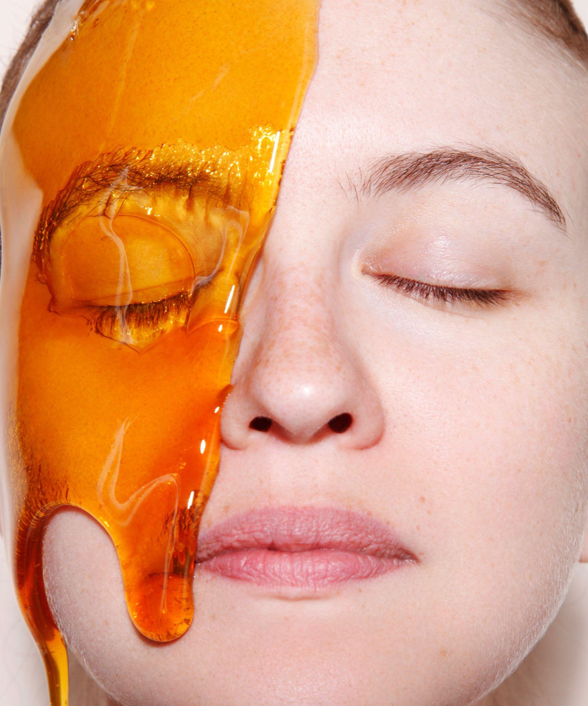 homemade honey face wash for acne prone skin | spa kit | pinterest