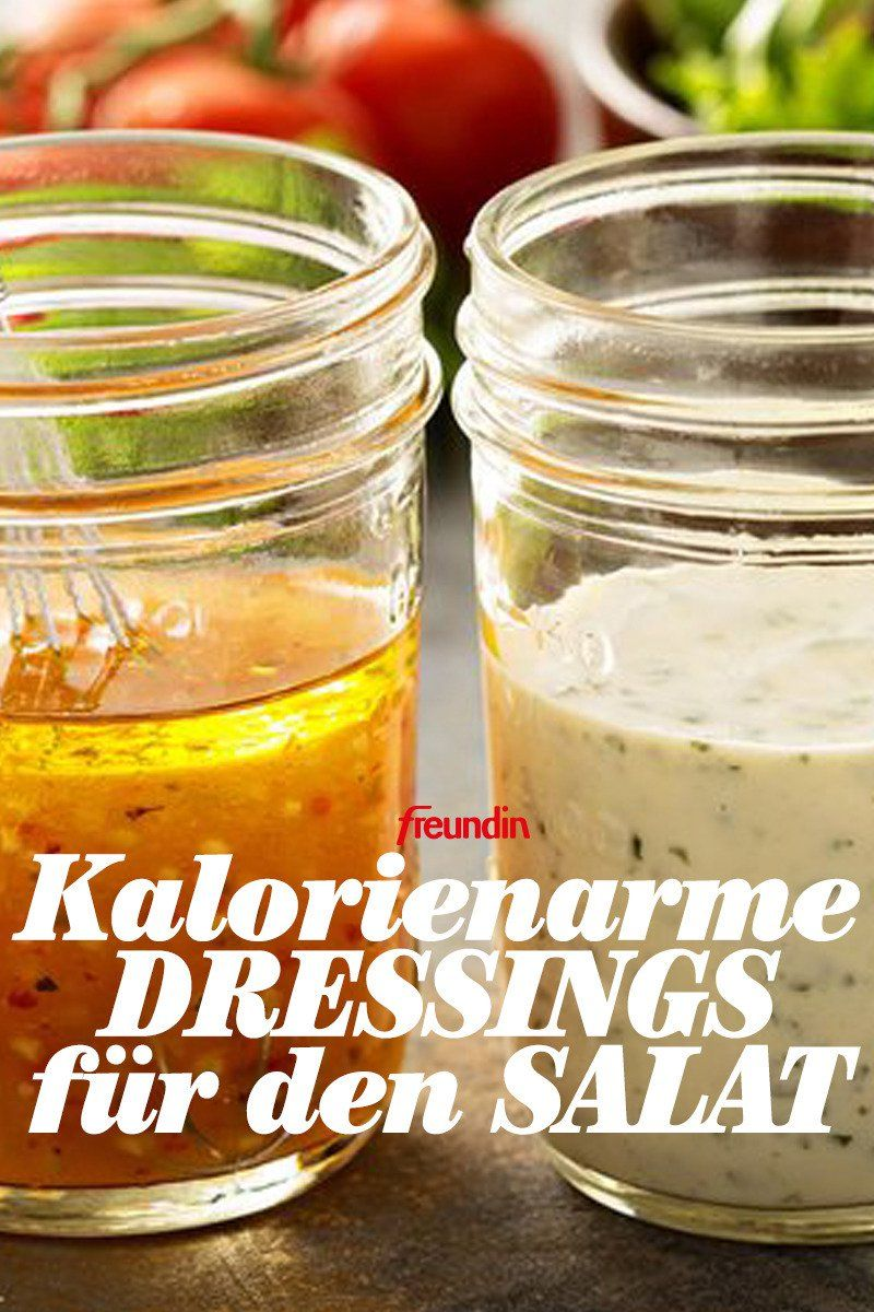 Photo of 3 oppskrifter på lavkalori-salatdressinger freundin.de
