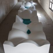 Michele De Lucchi and HI-MACS® 'Homage to the Imagination' - Bologna Water Design, Italy