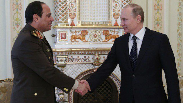 {  BACK TO THE FUTURE: EGYPT AND A RENEWED RELATIONSHIP WITH RUSSIA  }  #SOFREP.com ....... ''The time will come when this administration will have to decide whether it wants to work with the Egyptian government, or stand their ground and risk Russia taking Egypt to the prom instead.—James Powell''......  http://sofrep.com/39490/back-future-egypt-renewed-relationship-russia/