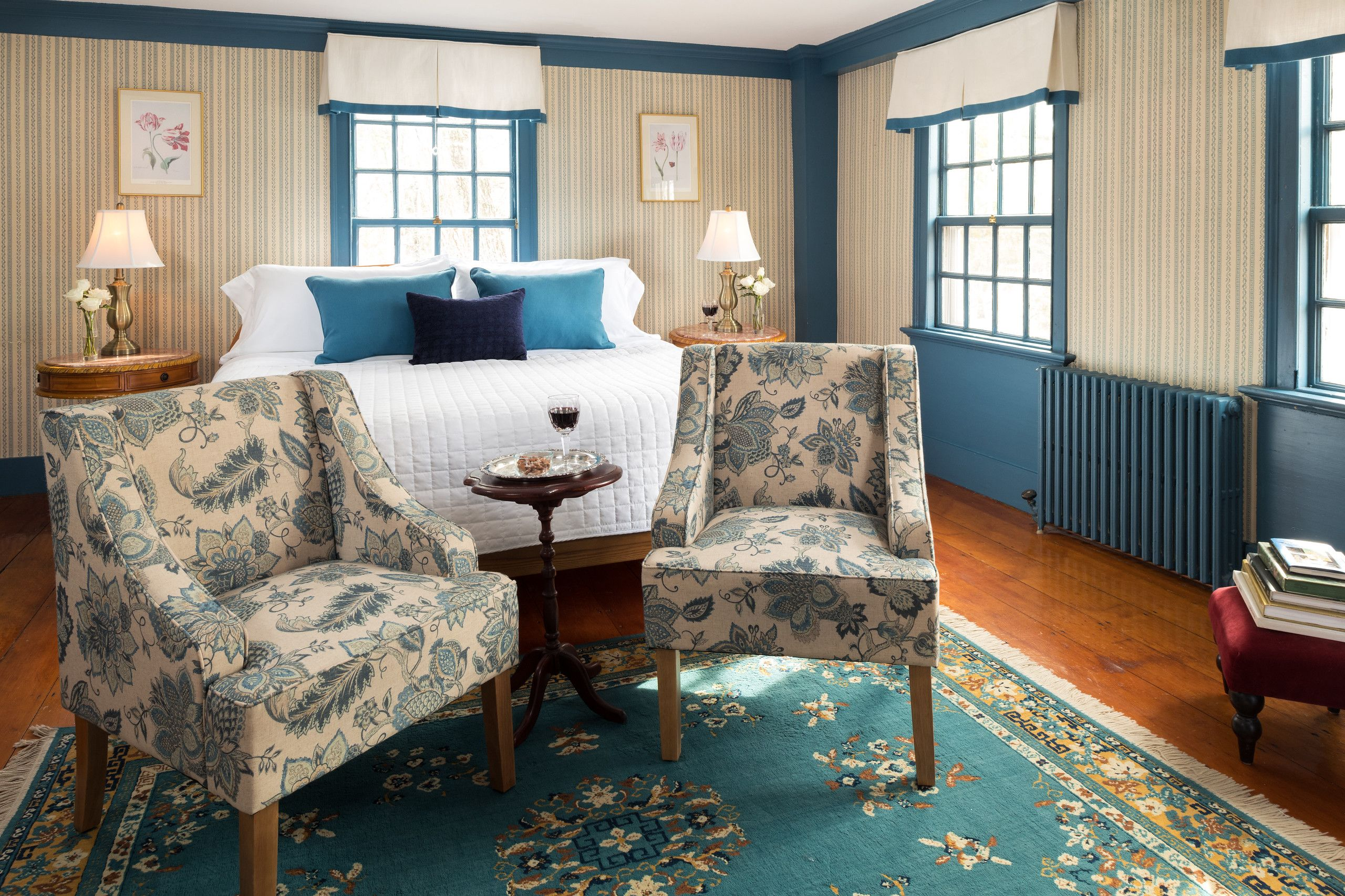 The Blue Room Maine bed and breakfast, Blue rooms, Home
