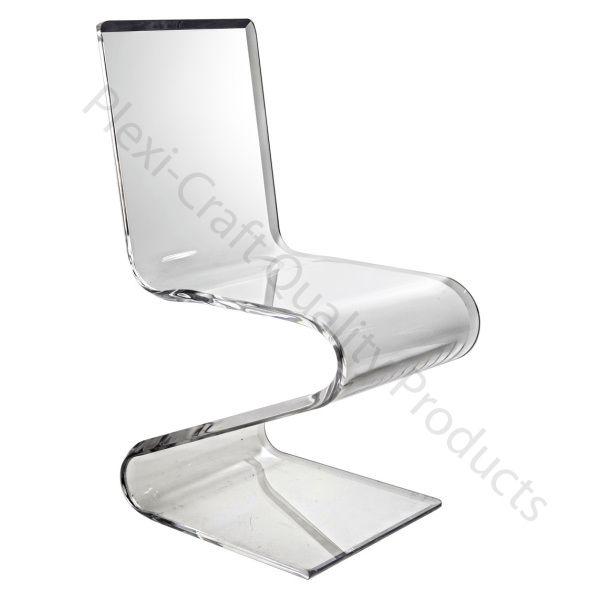 Chaise Bureau Plexiglass