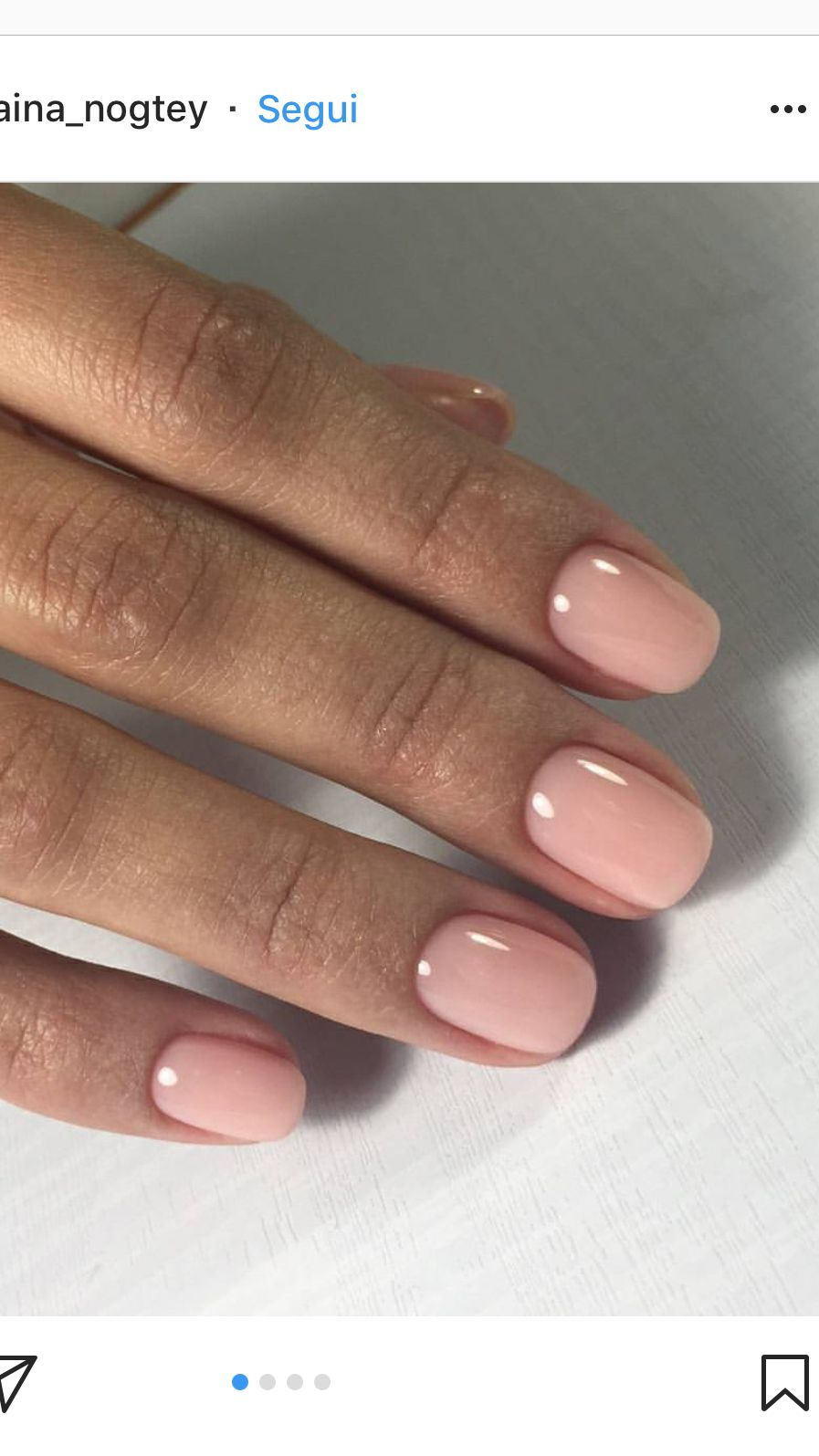 Pretty natural color nail to my WOMEN OVER 40