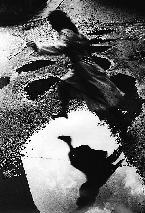 Lothar Reichel  Jumping the puddle, circa 1970.
