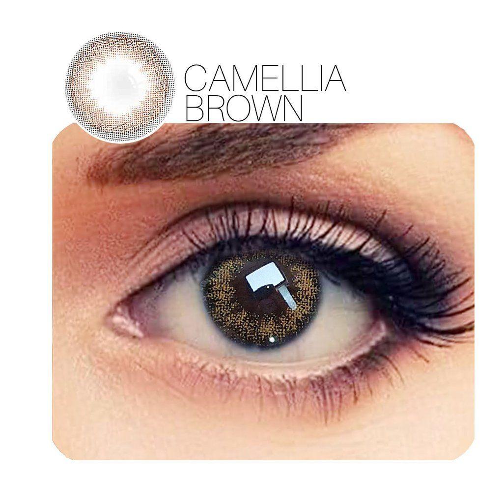 Buy Brand Camellia Prescription 3 Colors 14 0mm 1 Pair 12 Month Contact Lenses Free Shipp Best Colored Contacts Colored Eye Contacts Contact Lenses Colored