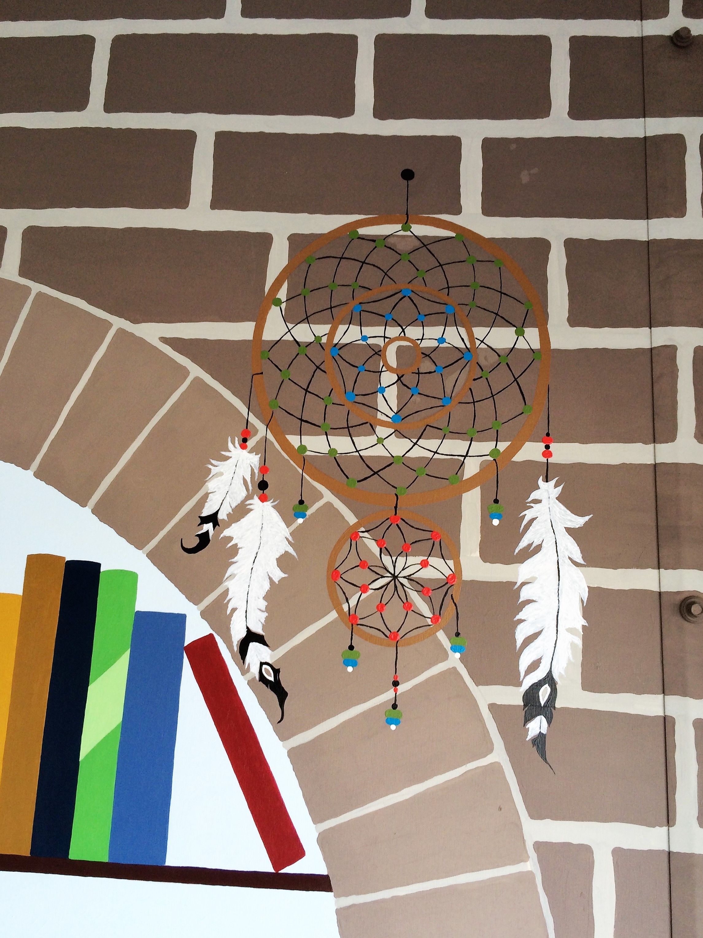 My hand painted Dream Catcher