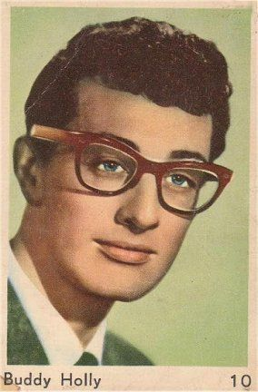 Buddy Holly trading card