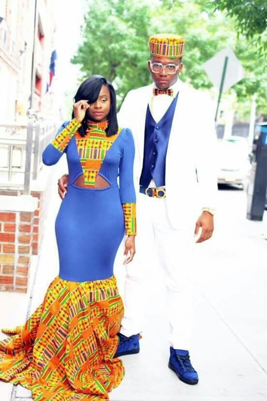 African Themed Prom Dress Prom Dresses Pinterest African