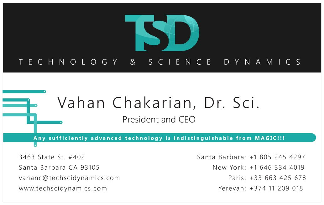 Vahan Chakarian\'s business cards | Live Business Cards | Pinterest ...