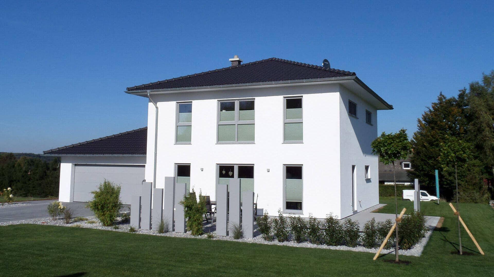 Schlüsselfertiges Massivhaus Spektralhaus: 1 5 Geschossig Stadtvilla