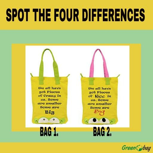 Spot the #4 #differences!