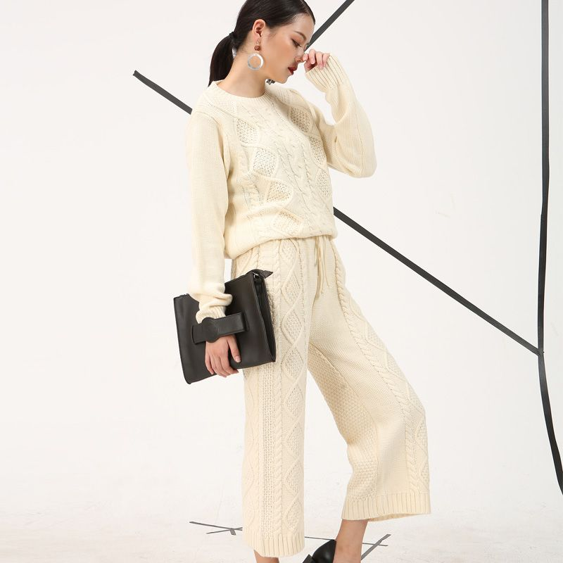 2017 Musim Semi Dan Musim Semi Baru Korea Fashion Leher Bulat