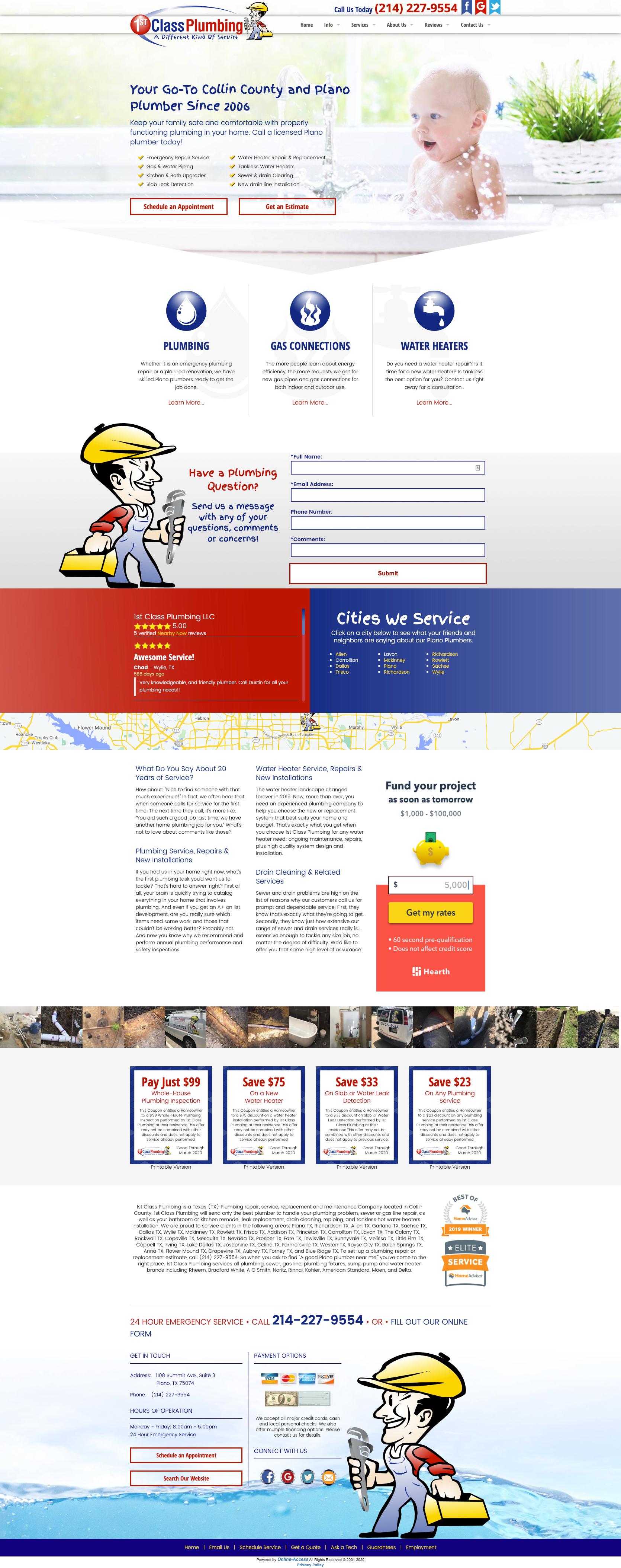 Branded Website Design in 2020 Plumbing humor, Plumbing