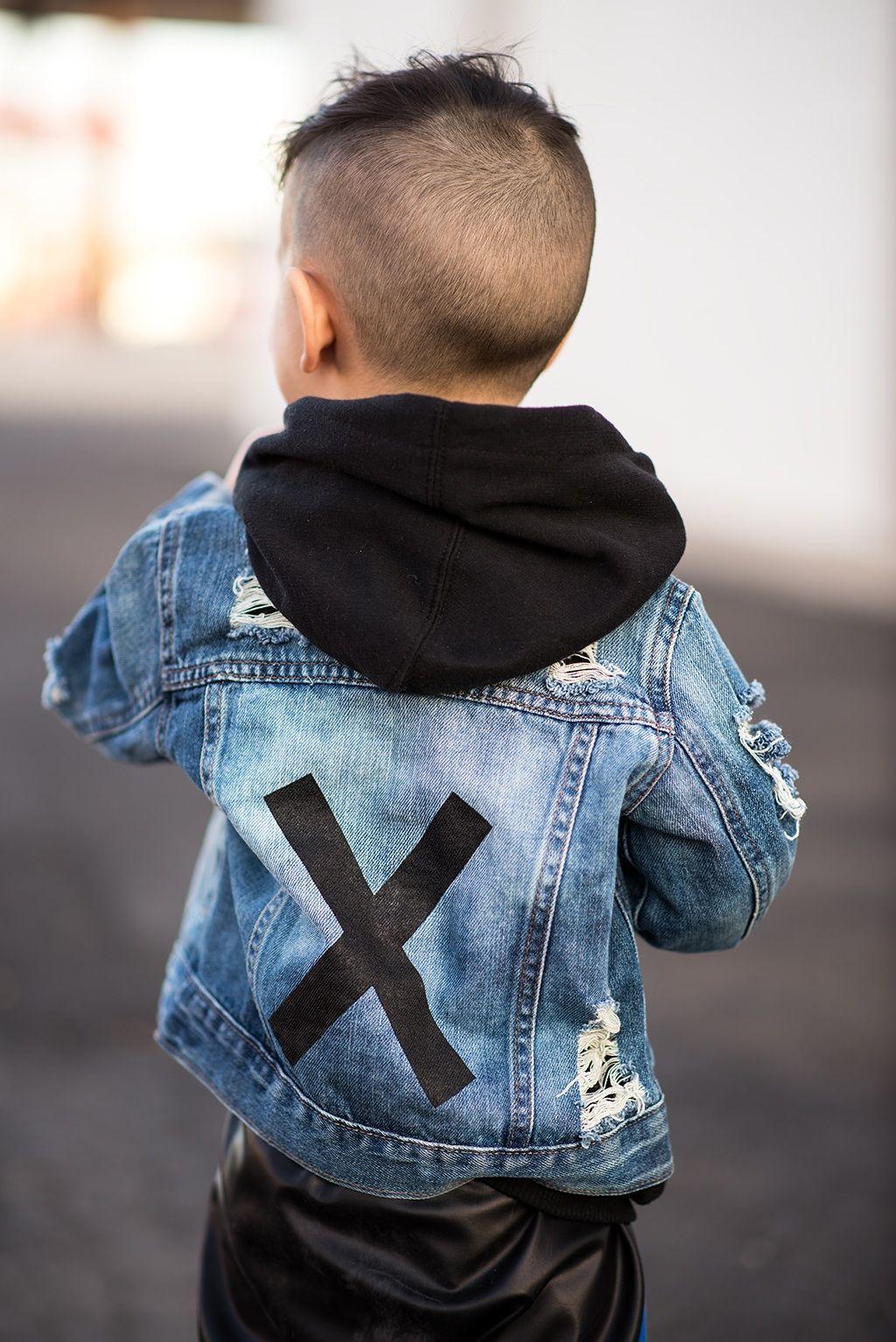 f344565ac669 Lovesickthreads Jean denim jacket toddler boy fashion | Liam ...baby ...