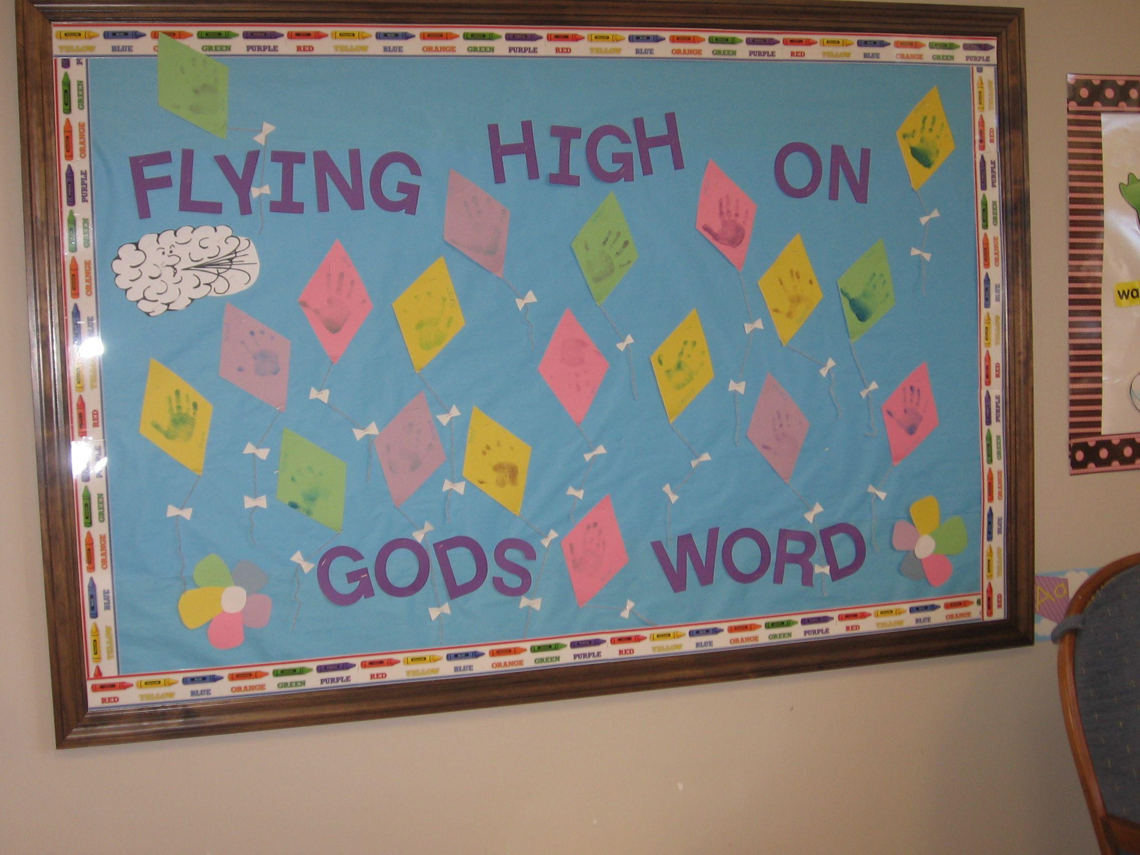 March Bulletin Board 2011 Flying High On Gods Word Christian