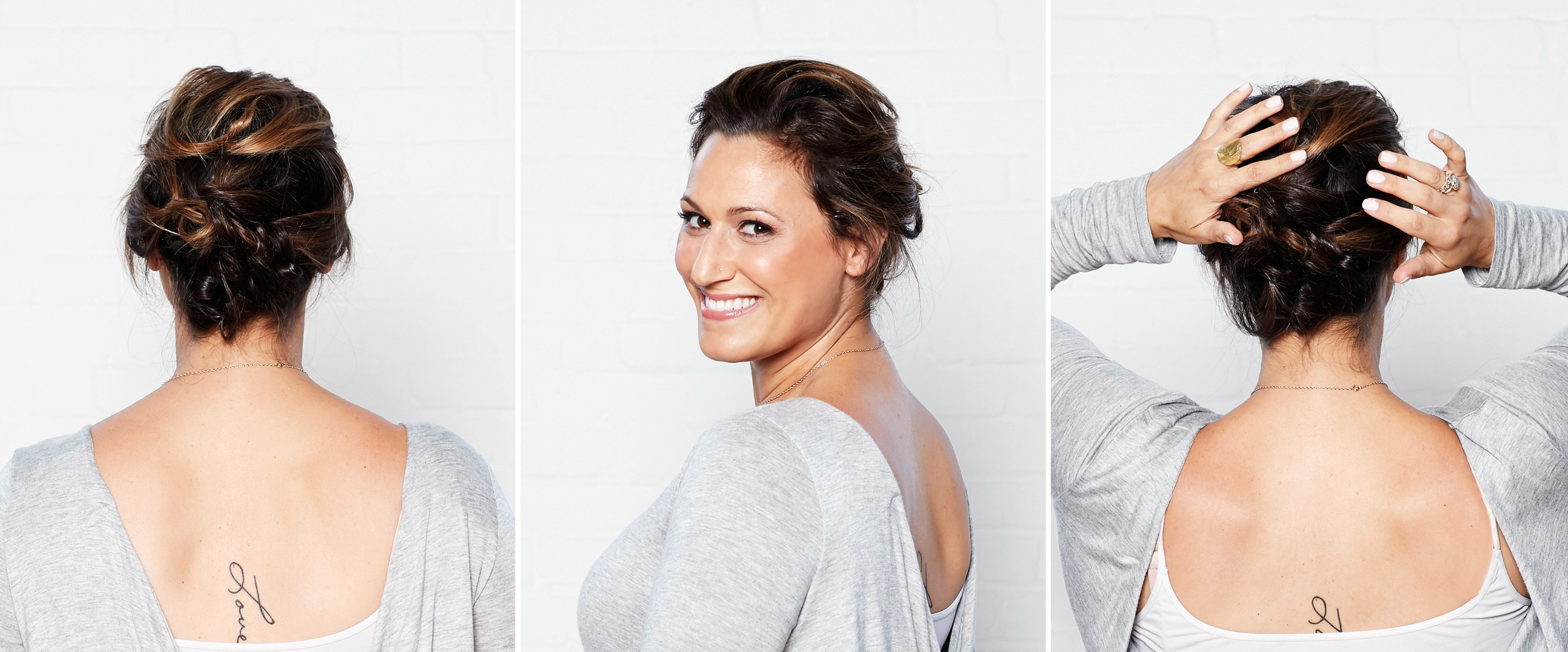 A New Twist on an Updo for Short Hair | The Strand | Hair & Make-up ...