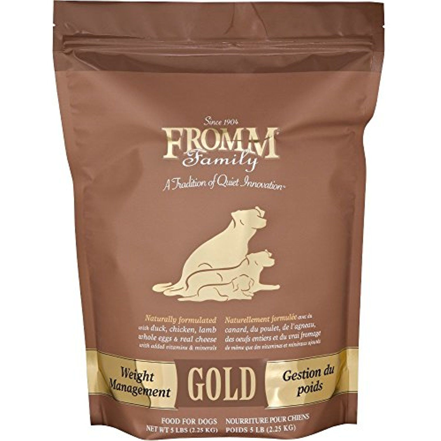 Fromm Gold Dog Food Weight Management (5 lb) You could