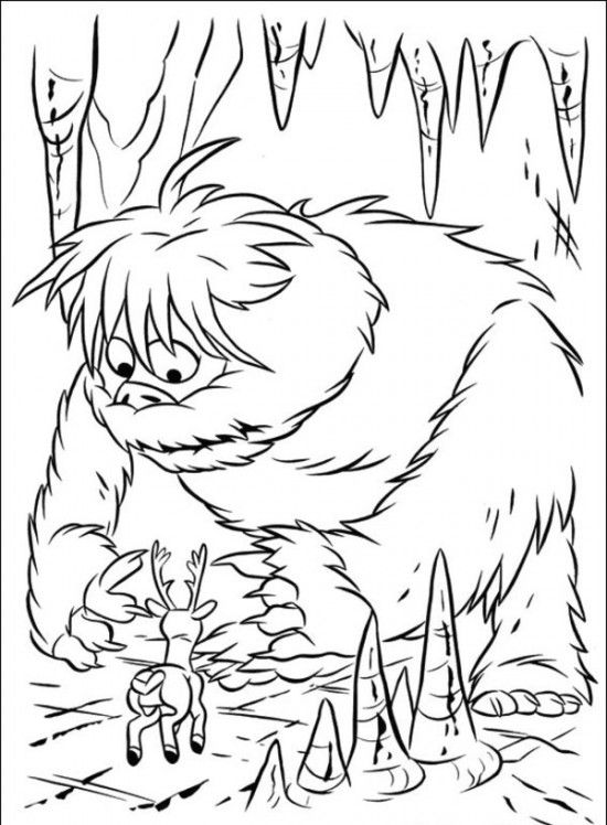 Rudolph the Red-Nosed Christmas Reindeer Coloring Pages | Christmas ...