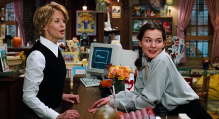 """Not only do I love Meg Ryan but her character in """"You've Got Mail"""" IS me. It's almost funny to watch because even the males in my family comment on it."""