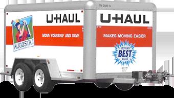 Uhaul ubox trailer