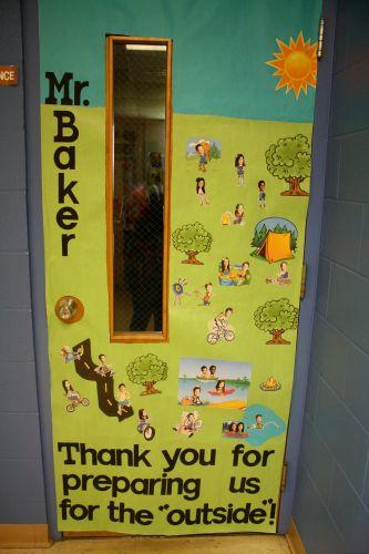 Outside Teacher Door Idea Teacher Appreciation Doors Teacher