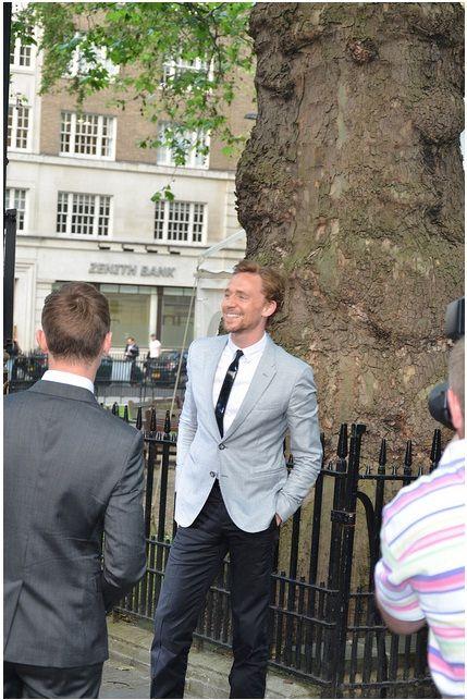 Tom Hiddleston at Glamour Magazine awards 2012.