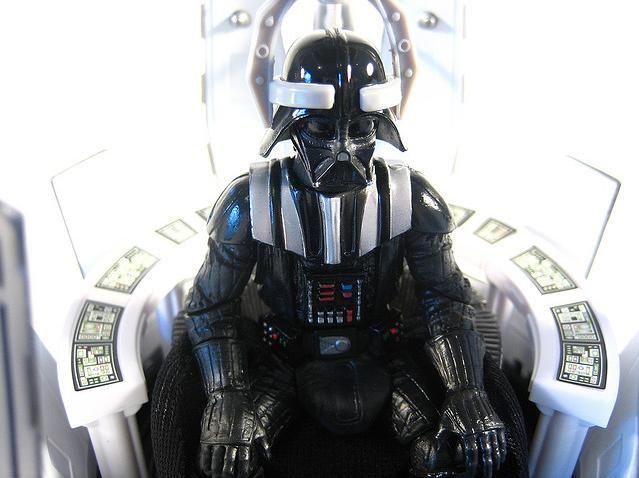 Star Wars Darth Vader in Meditation Chamber 500th figure