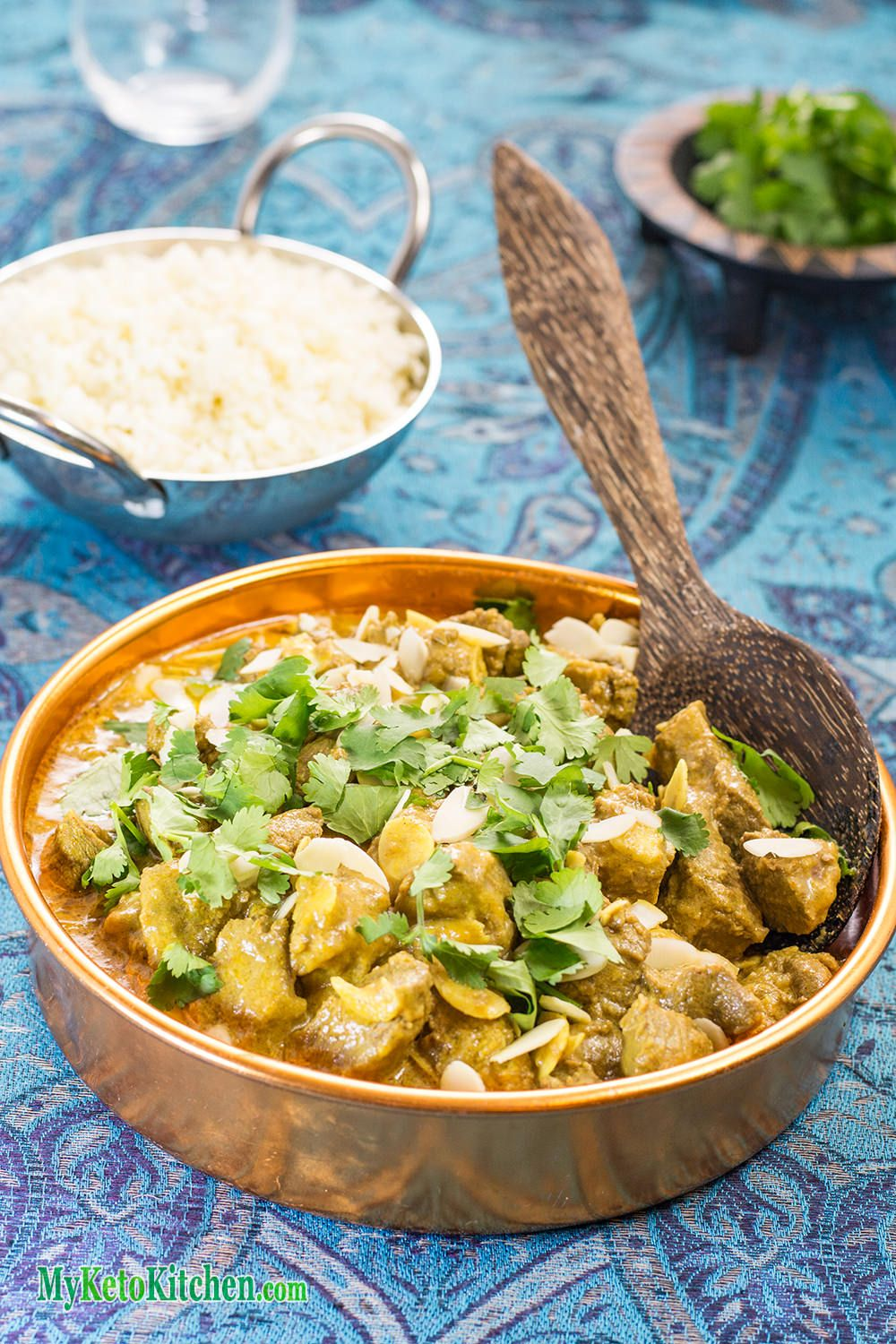 Coconut Chicken Curry Recipe Low carb indian food