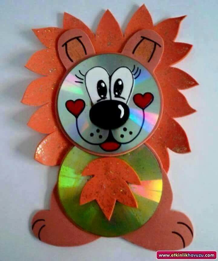 Ordinary Cd Craft Ideas For Kids Part - 11: Cd Animal Crafts For Kids
