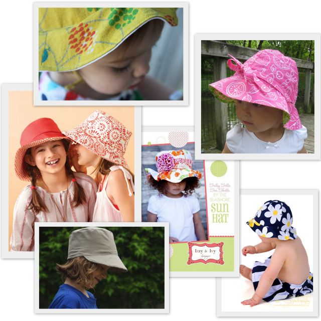 Sew A Summer Hat for Kids (Pattern Round-Up) | Pinterest | Kids ...