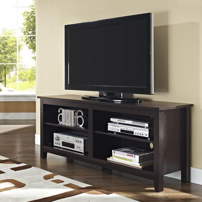 Beachcrest Home Sunbury TV Stand U0026 Reviews | Wayfair
