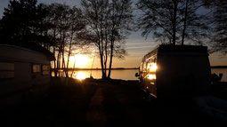 Halbinsel am Plauer See / MV Naturcamping Zwei Seen