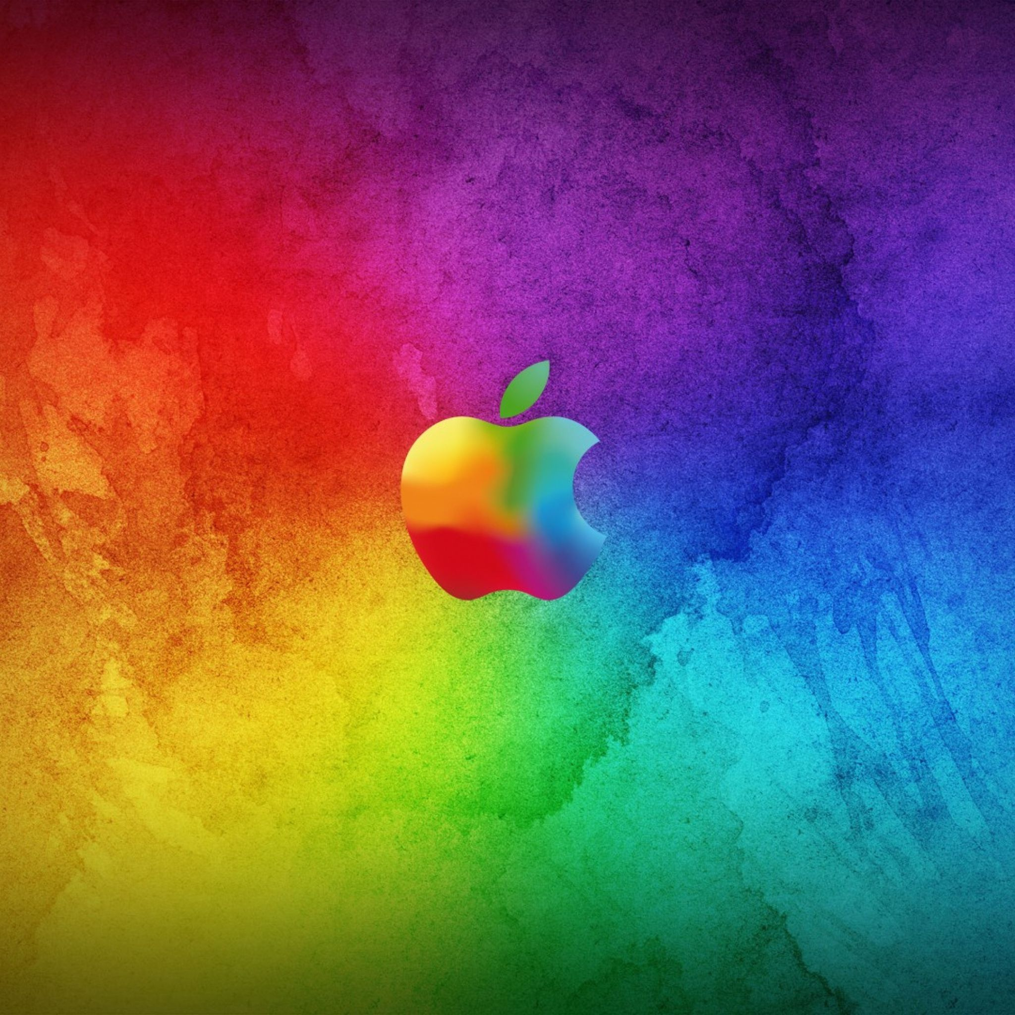 Colorful Iphone Wallpaper: 2048x2048 Wallpaper Apple, Colorful, Background, Brand