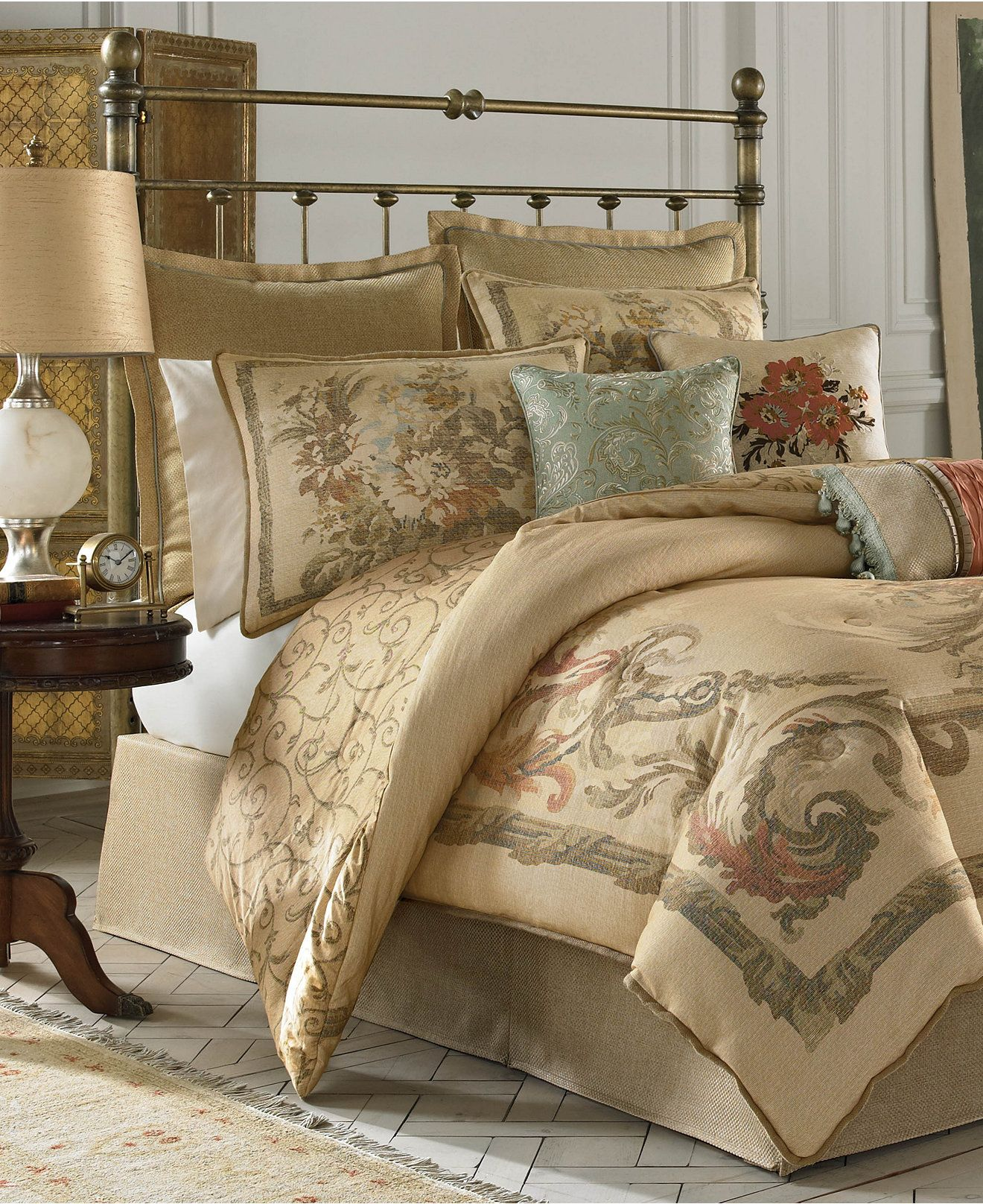 Croscill Normandy Comforter Sets - Bedding Collections - Bed ...