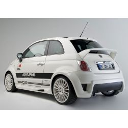 Fiat 500 Widebody Kit By Ms Design Pop And Lounge Model Fiat