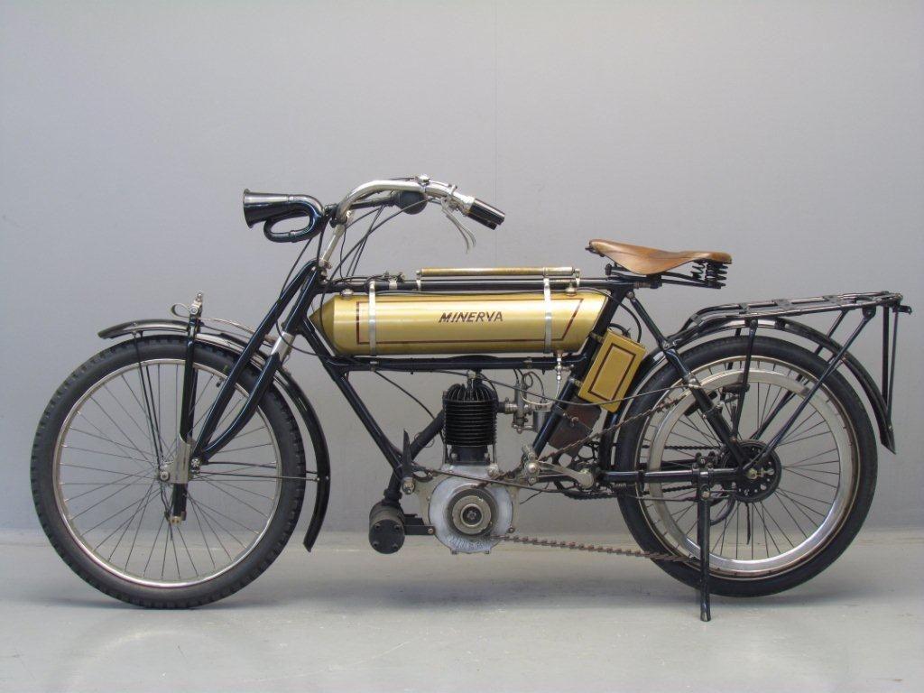 1908 Minerva Classic Motorcycles Antique Motorcycles Vintage Bikes