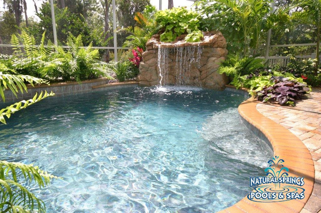 This was my pool built by Natural Springs Pools, in Lutz, Florida