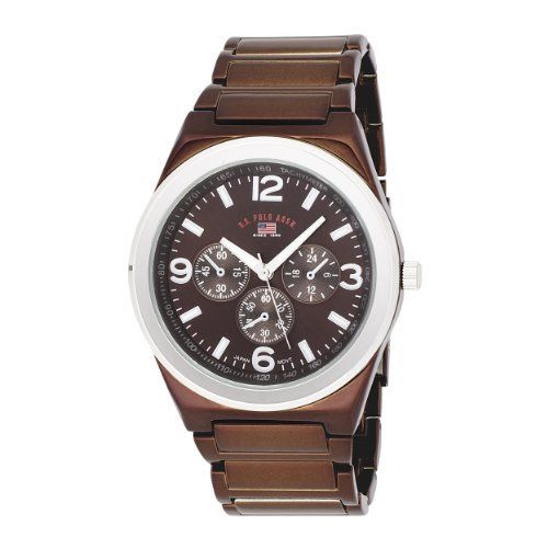 10++ Bulova mens dress brown leather chronograph watch 98a142 trends