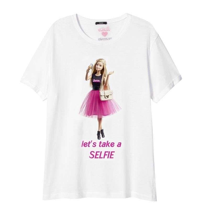 307b67a85e89c2 Collezione Barbie loves Tezenis - T shirt Barbie Tezenis   Children ...
