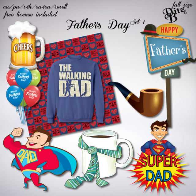 Father S Day Set 1 Day Dad Day Fathers Day