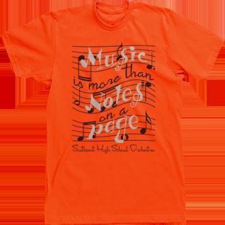 Band T-shirt Design High School Custom Tees Music is more than ...