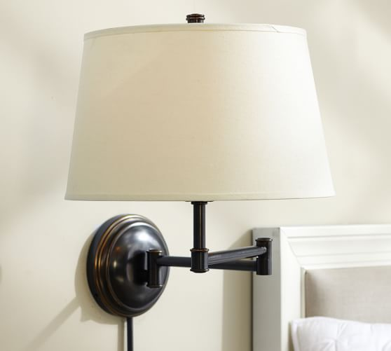 Chelsea Swing Arm Sconce Base Sconces Wall Lamp