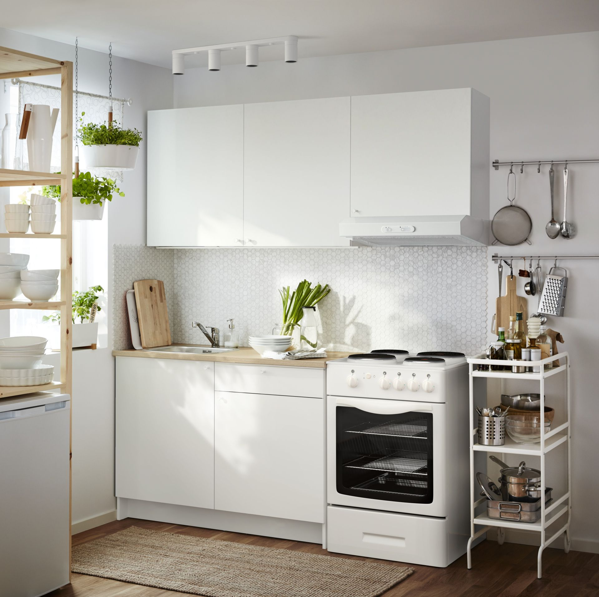 Lagan Afzuigkap Wand Wit Kitchens Ikea Kitchen Condo Kitchen