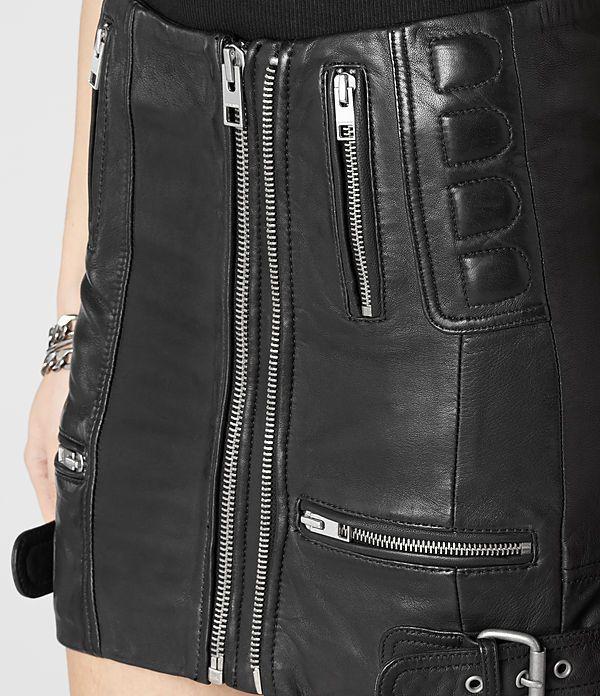 Leather Biker Skirt   Holiday Wish List