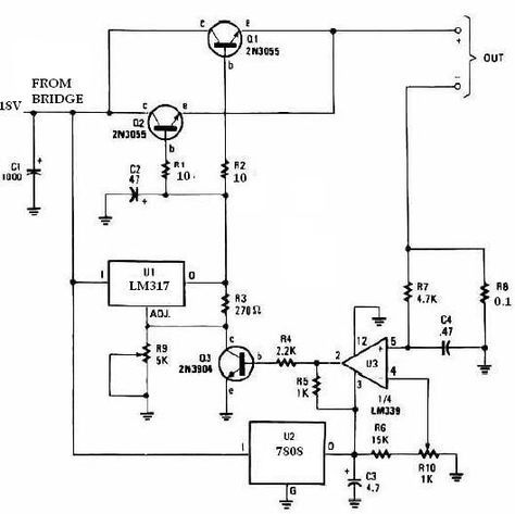 simple metal detector circuit diagram and schematic using a single