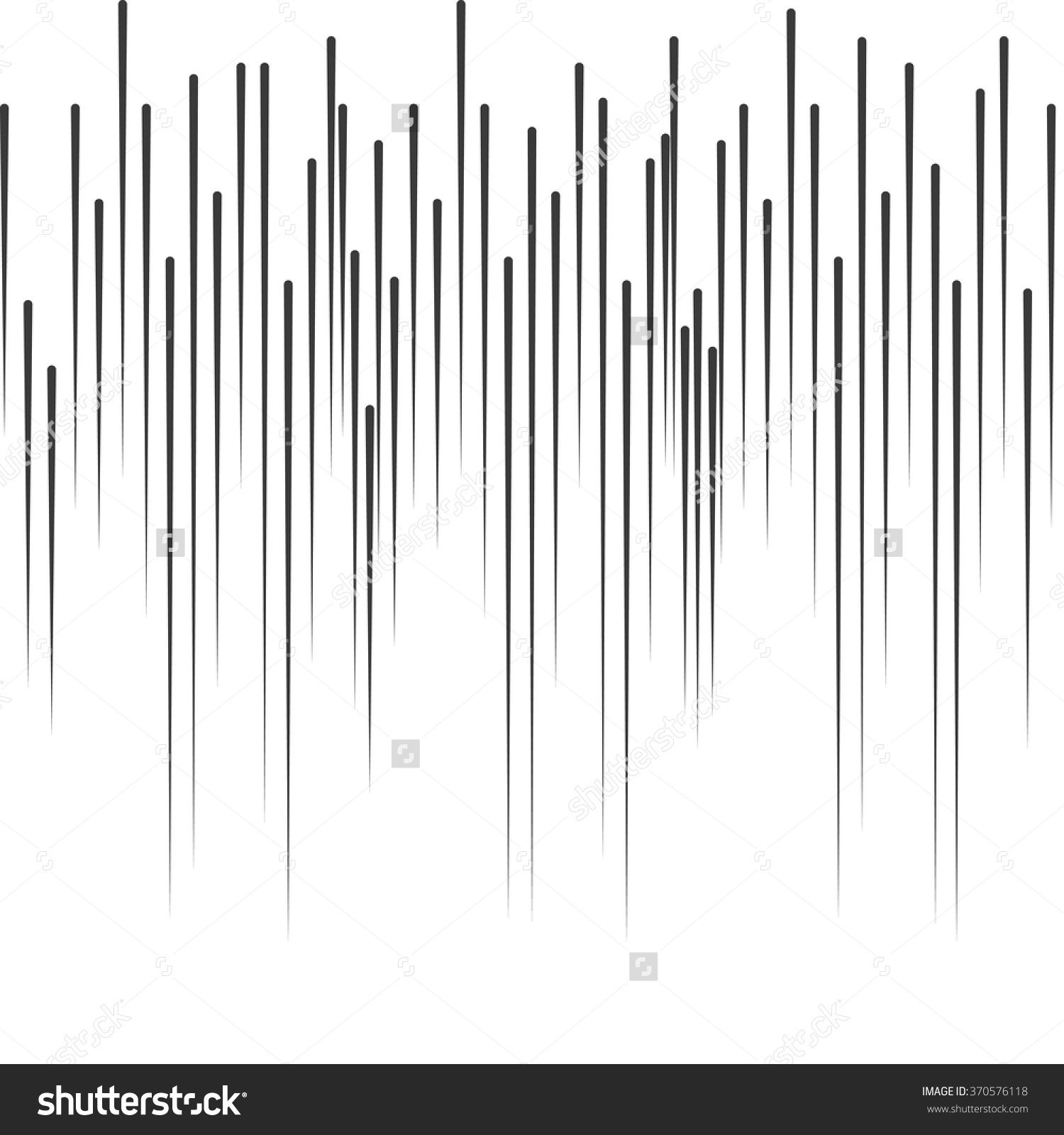 Comic Book Vector Manga Rain Motion Lines Effects Vertical Stripe Speed Rays Manga Comic Books Vector Images