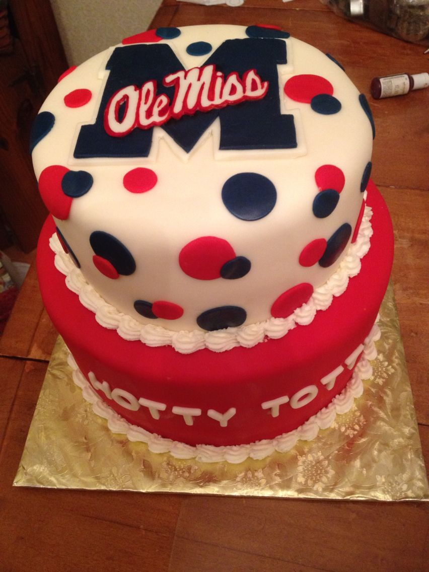 Magnificent Graduation Cake Ole Miss With Images Miss Cake Graduation Cakes Funny Birthday Cards Online Fluifree Goldxyz