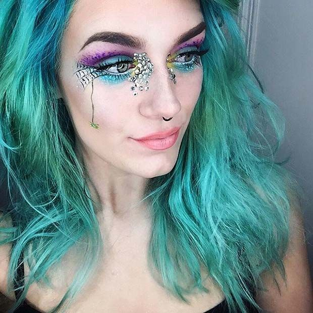 23 Cute Makeup Ideas for Halloween 2017 Makeup ideas, Halloween - cute makeup ideas for halloween