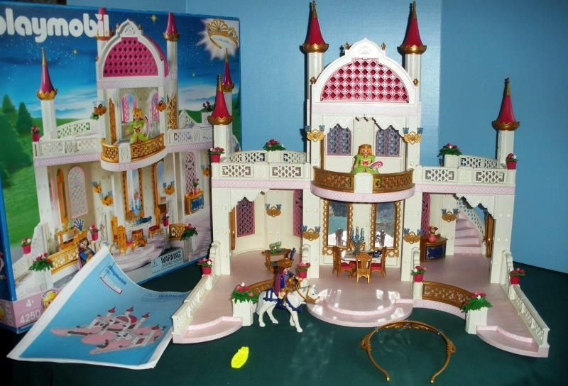 Vintage Playmobil #4250 Magic Princess Castle with Crown/ Complete ...