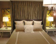 Relaxing Luxury eclectic bedroom